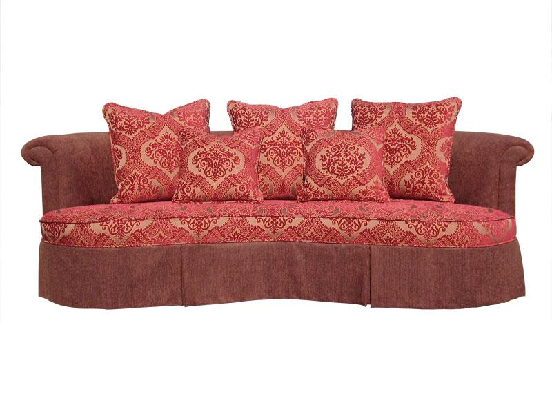 Houston upholstery bellaire sofa for Best buy furniture houston