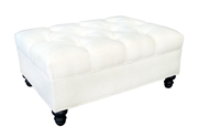Picture of V30 Rectangle Tufted Ottoman